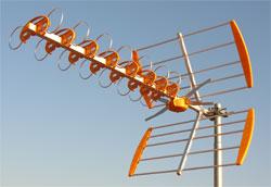 infinito Tipos de antenas TDT