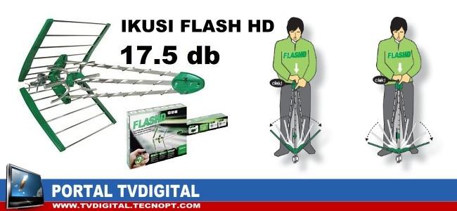 Antena TDT Ikusi Flash HD