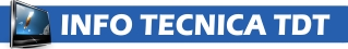 Info Tecnica TDT